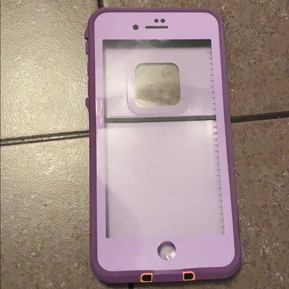 on sale 0b15c 4160b Purple iPhone 8 Plus Lifeproof Case